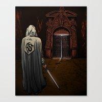 Slayer Of Devils Canvas Print