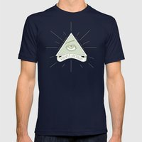 The All-Rolling Eye Mens Fitted Tee Navy SMALL