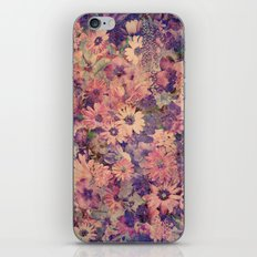 Floral Flood iPhone & iPod Skin