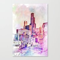 My Kind Of Town Canvas Print