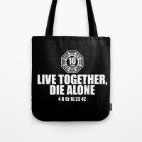 Live Together Tote Bag