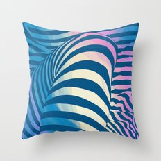 Shapes Of Things Throw Pillow