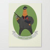 Gangstarfish! Canvas Print