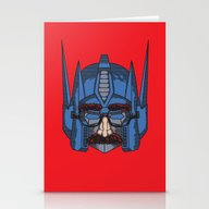 Robot In Disguies  Stationery Cards