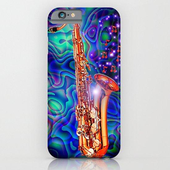 Saxophone iPhone & iPod Case