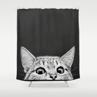 You Asleep Yet? Shower Curtain