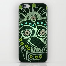 Weirdo Mask iPhone & iPod Skin