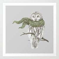 Cold Art Print