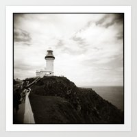 { Light House } Art Print
