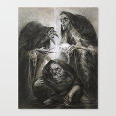 The Moirai Canvas Print