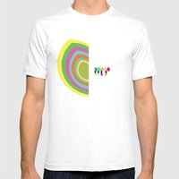 Half Hearted  Mens Fitted Tee White SMALL