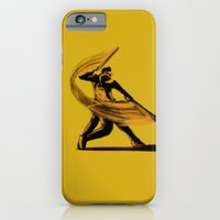 iPhone & iPod Case featuring Baseball by Enzo Lo Re