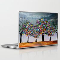 butterfly Laptop & iPad Skins featuring butterfly by mark ashkenazi