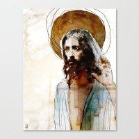 Shalom Aleichem/Peace Be… Canvas Print