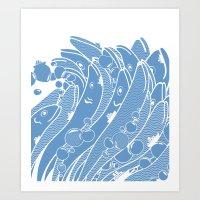 The Ocean Is Alive Art Print