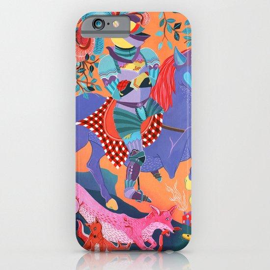 Picnic Knight iPhone & iPod Case