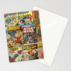 Comics Stationery Cards