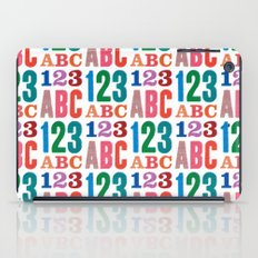 ABC 123 iPad Case