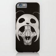 Panda Skull iPhone 6 Slim Case