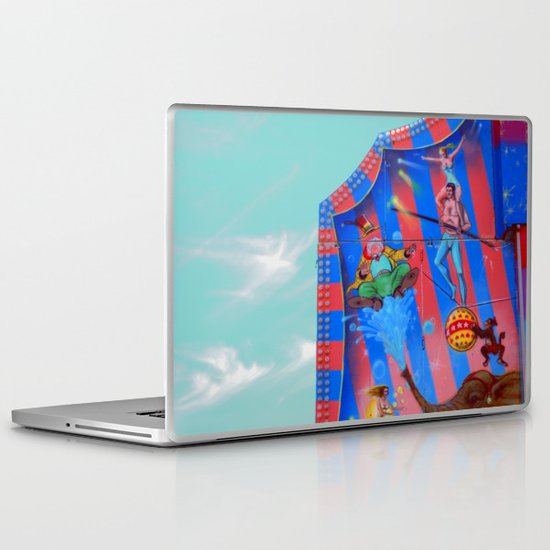 Circus Tent in The sky Laptop & iPad Skin