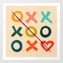 xoxo Love Art Print