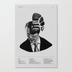 Hannibal Lecter Phrenolo… Canvas Print