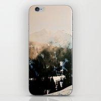 Winter Mountain Hike iPhone & iPod Skin