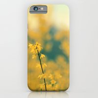 iPhone & iPod Case featuring Forsythia by Alicia Bock