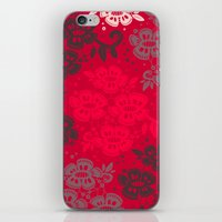 Floral Pattern #11 iPhone & iPod Skin
