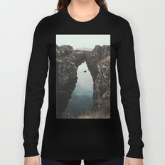 I left my heart in Iceland - landscape photography Long Sleeve T-shirt