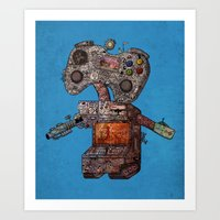 Gamebot Art Print