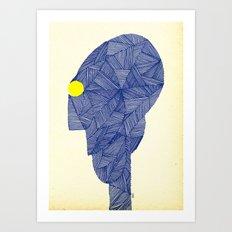- space message - Art Print