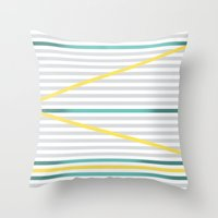Zic Zac Minds Throw Pillow