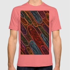Spirits SMALL Mens Fitted Tee Pomegranate