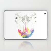 zodiac - gemini Laptop & iPad Skin