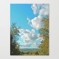 Sunny Sunday Canvas Print