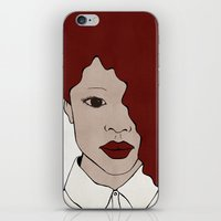Female One iPhone & iPod Skin