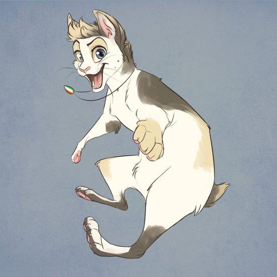 Cat Nialler Art Print