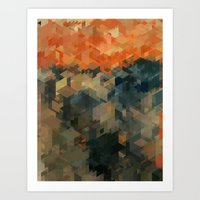 Panelscape Iconic - The … Art Print