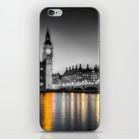 Westminster At Night iPhone & iPod Skin
