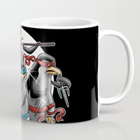 Ninja Penguins Mug