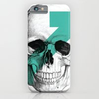 iPhone & iPod Case featuring skull7 by WeLoveHumans