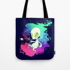 DANK ASS SPACE WEED Tote Bag