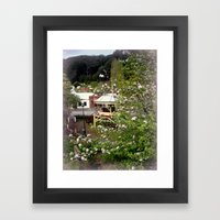 Gazebo Framed Art Print