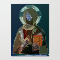Saint Canvas Print