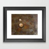Clockworks Framed Art Print