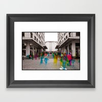 Sequential Serie : The M… Framed Art Print