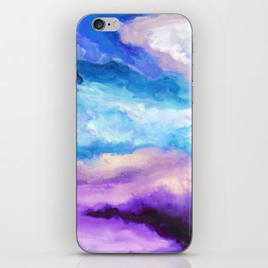 Noche Azul iPhone & iPod Skin