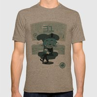 I've been waiting for you, Mr. Bond Mens Fitted Tee Tri-Coffee SMALL