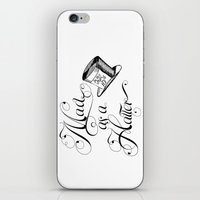 Alice In Wonderland Mad … iPhone & iPod Skin
